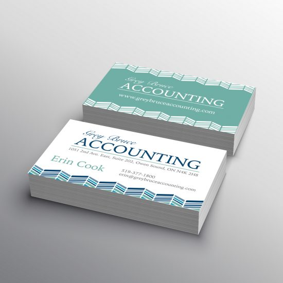 Grey Bruce Accounting business card