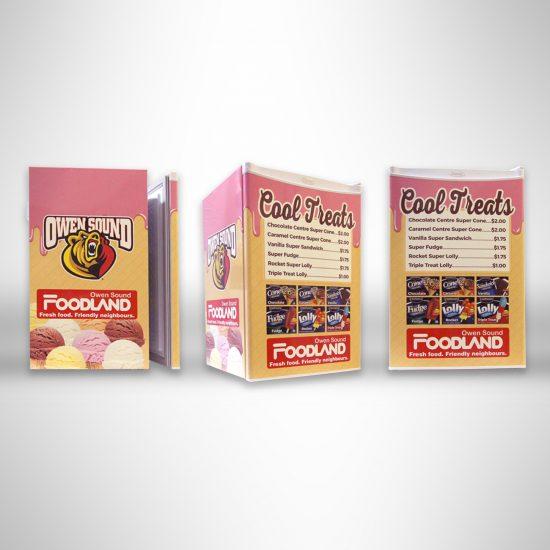 Foodland mini fridge