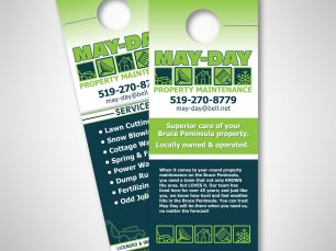 May-Day door hangers