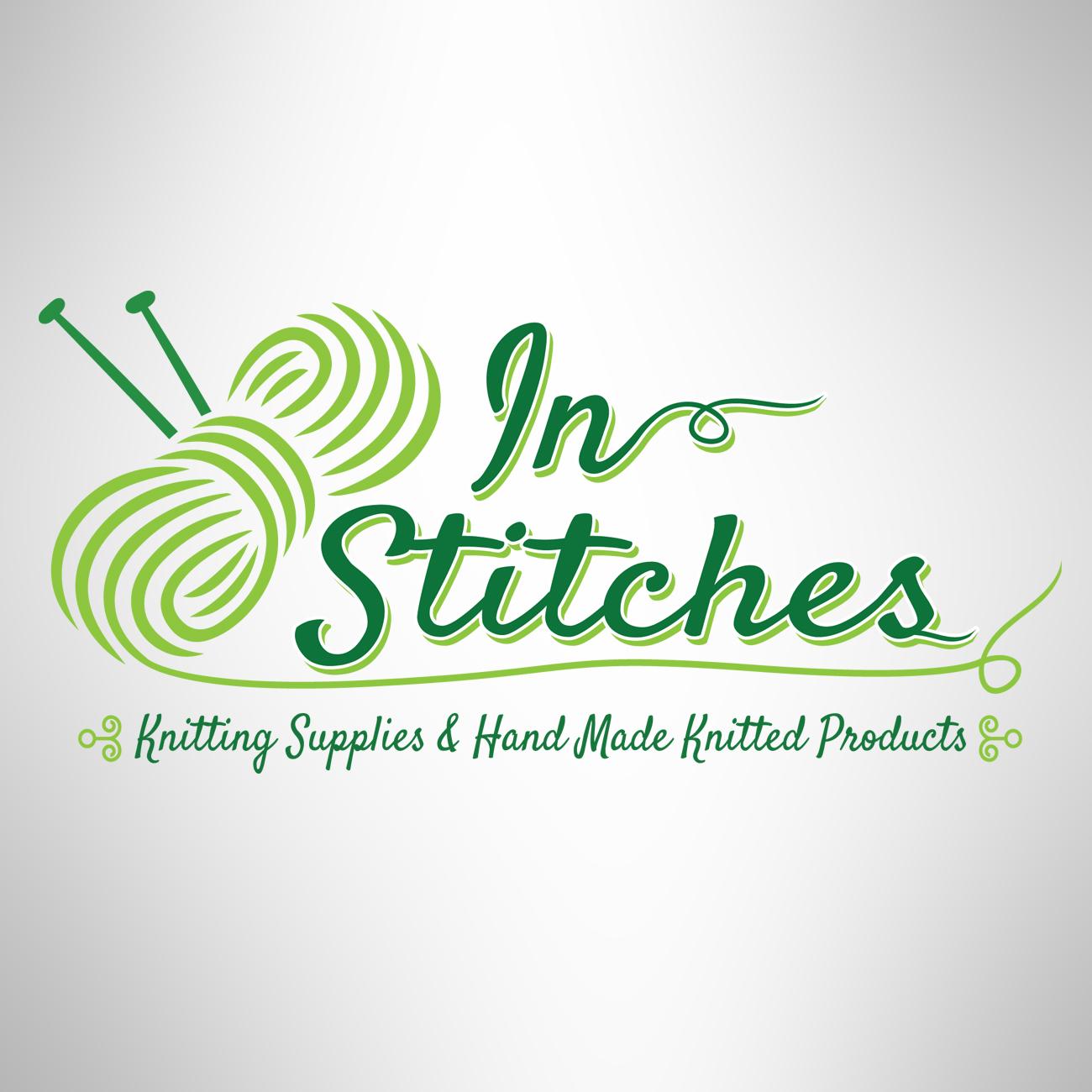In Stitches logo