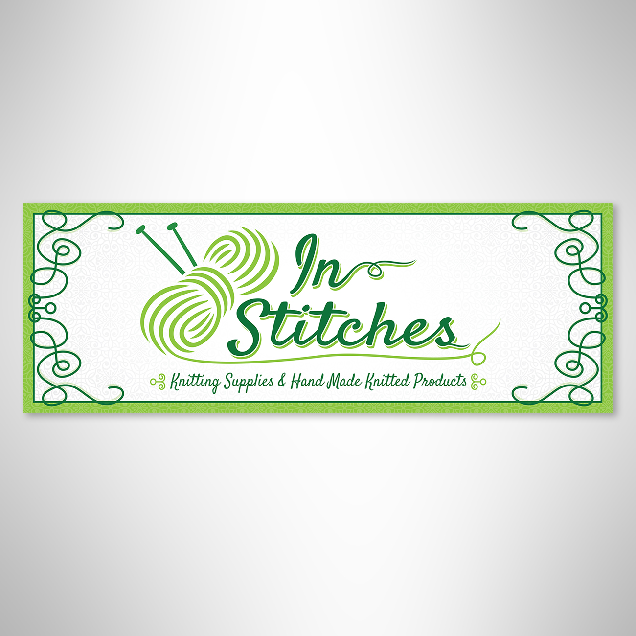 In Stitches sign