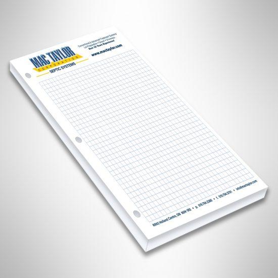 Mac Taylor order pad