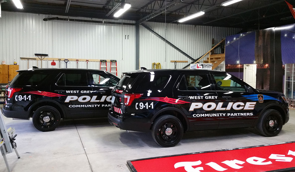 West Grey Police Vehicle Decals