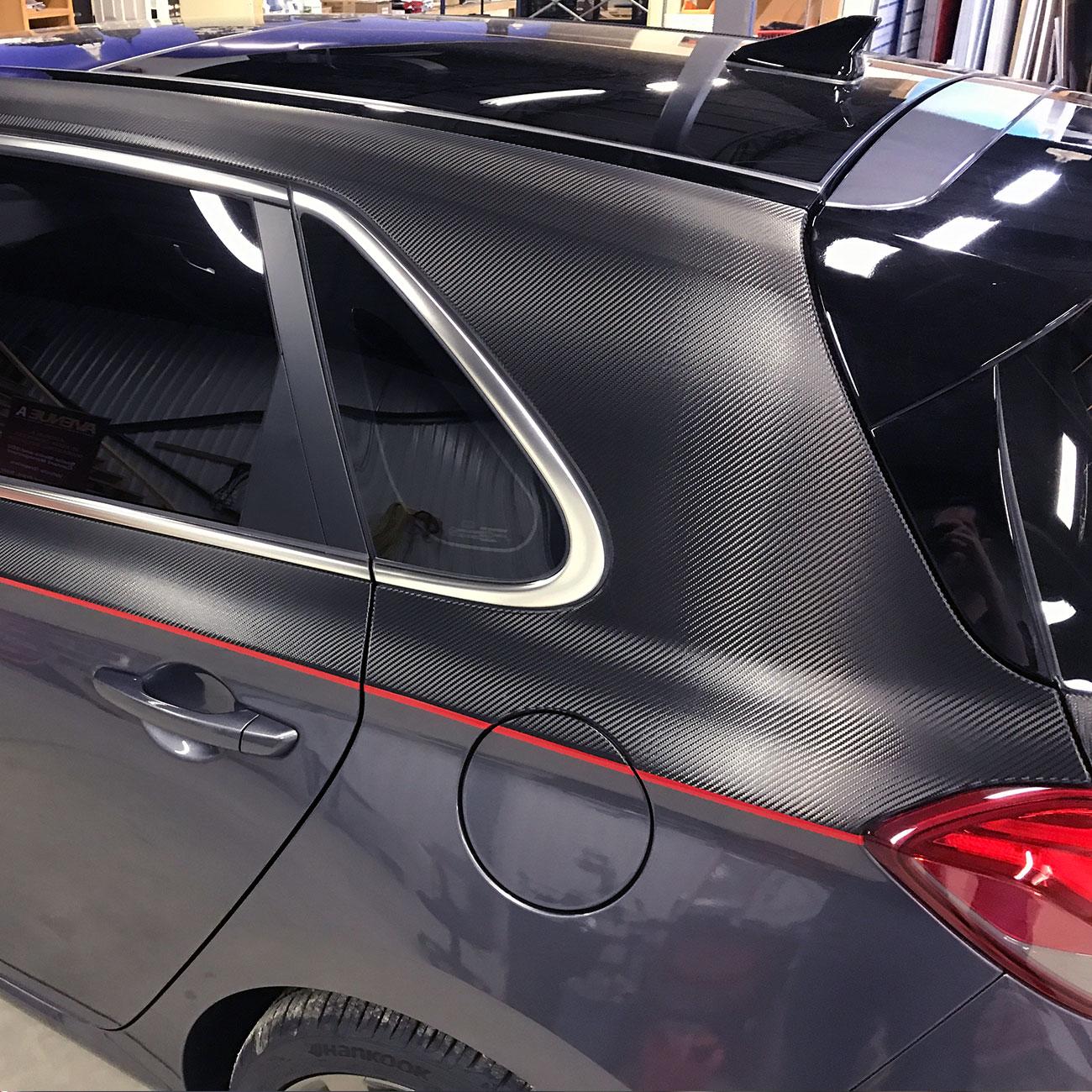 Hyundai Elantra decals
