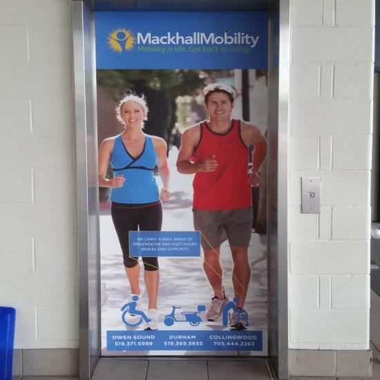 Mackhall Mobility elevator