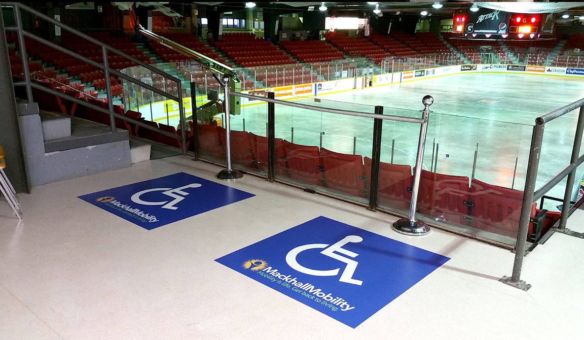 Mackhall Mobility Wheelchair zone