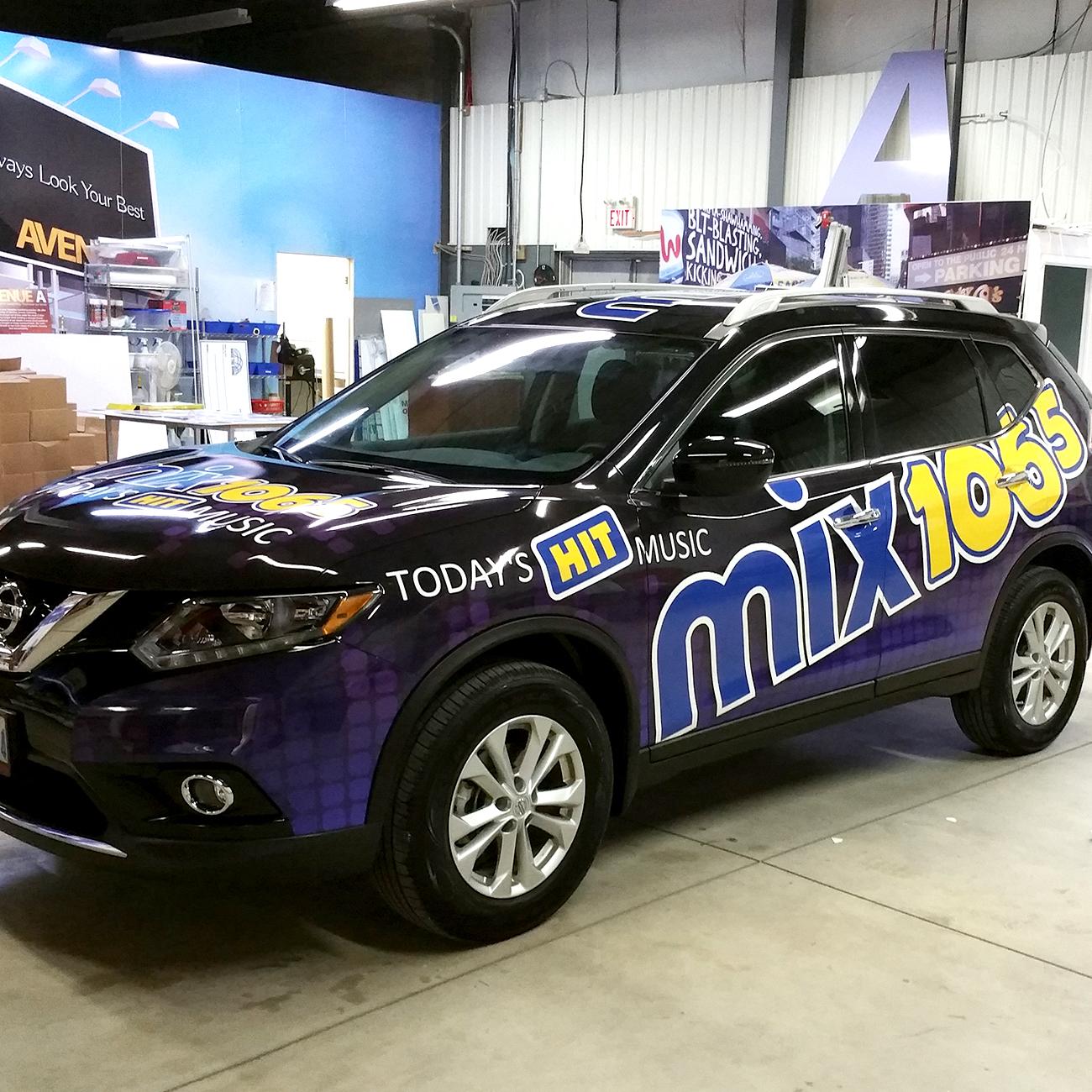 Mix 106.5 car