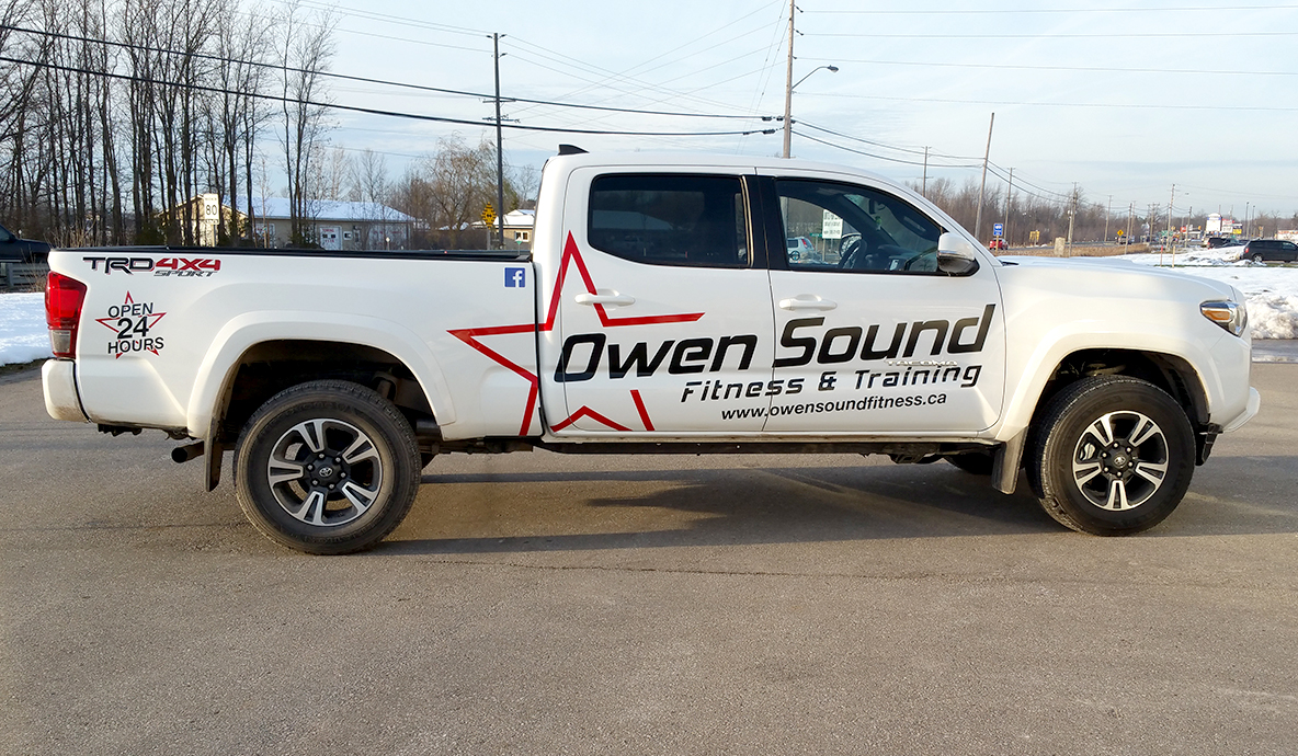 Owen Sound Fitness vehicle