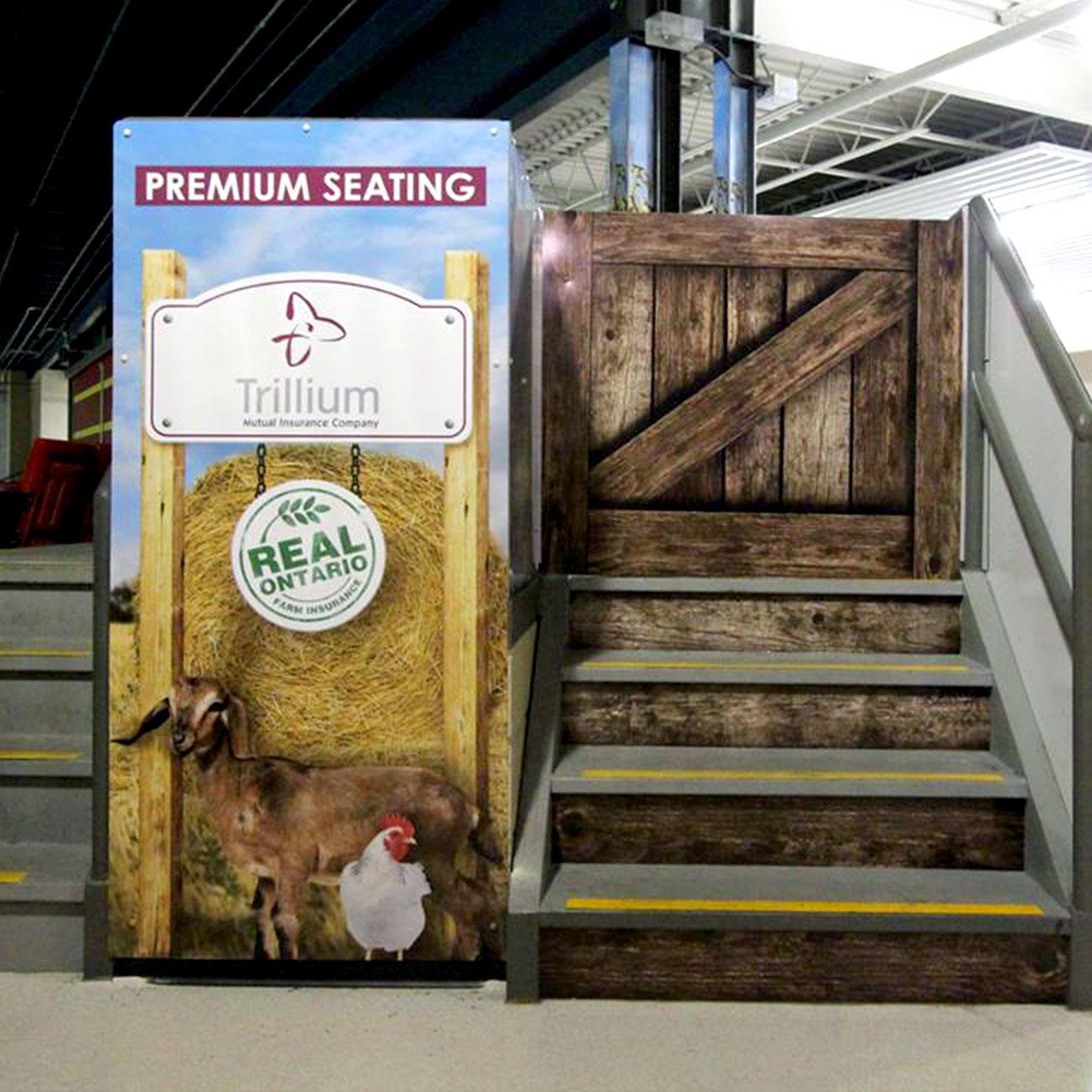 Trillium premium seating