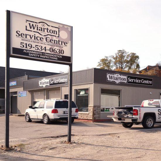 Wiarton Service Centre signage