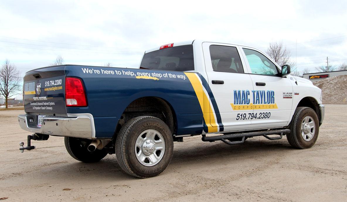 Mac Taylor Truck