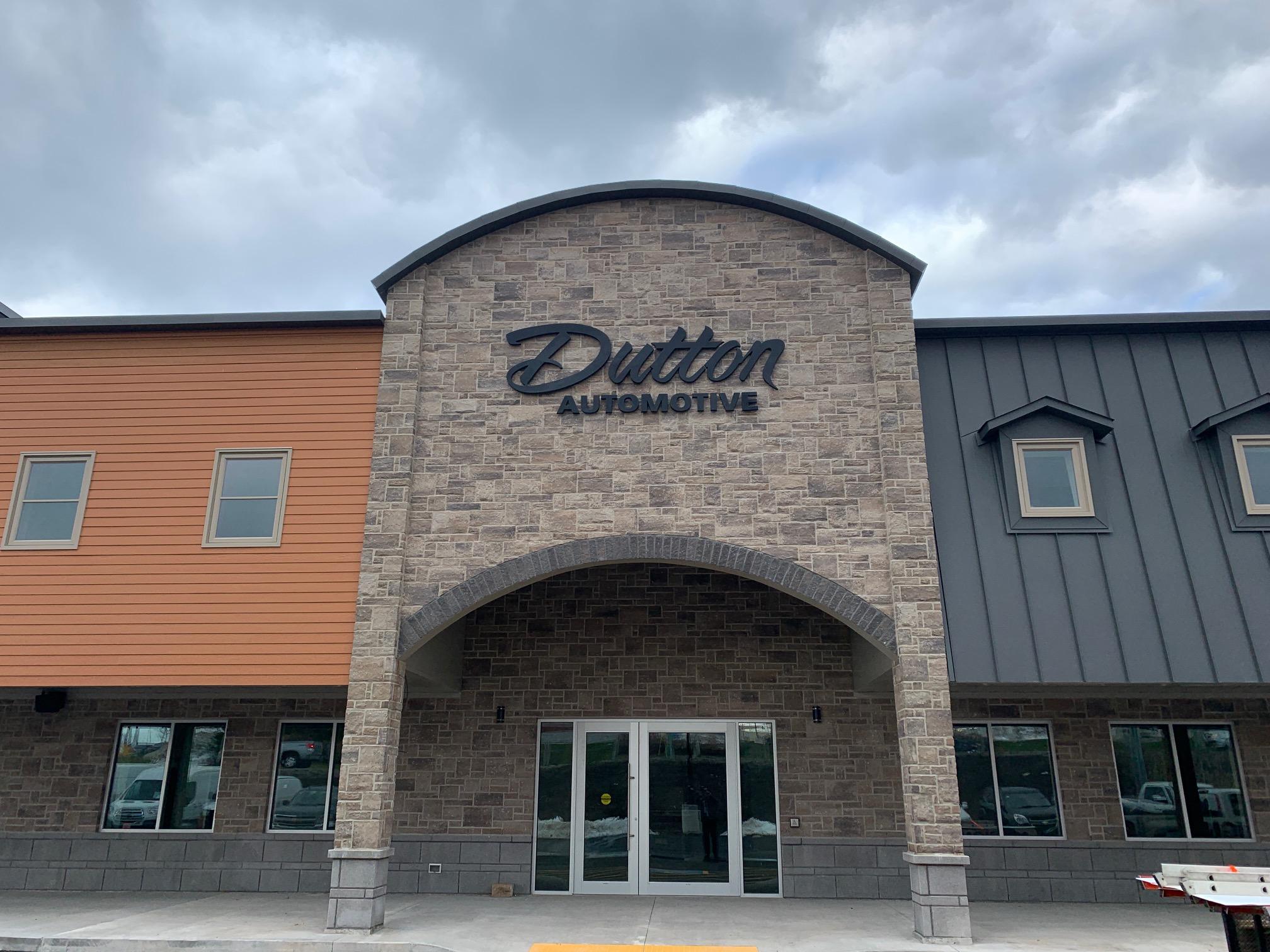 Dutton Automotive Building Signage