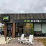 Nicol Insurance Building Signage Port Elgin