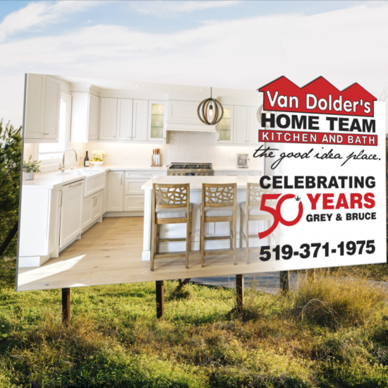 Van Dolder's Kitchen & Bath Billboard Design