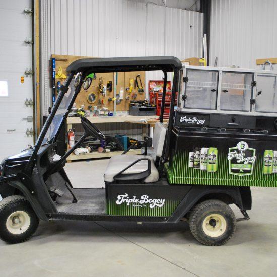 Triple Bogey Golf Cart