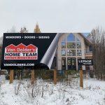 Van Dolder's Home Team Custom Exteriors Billboard
