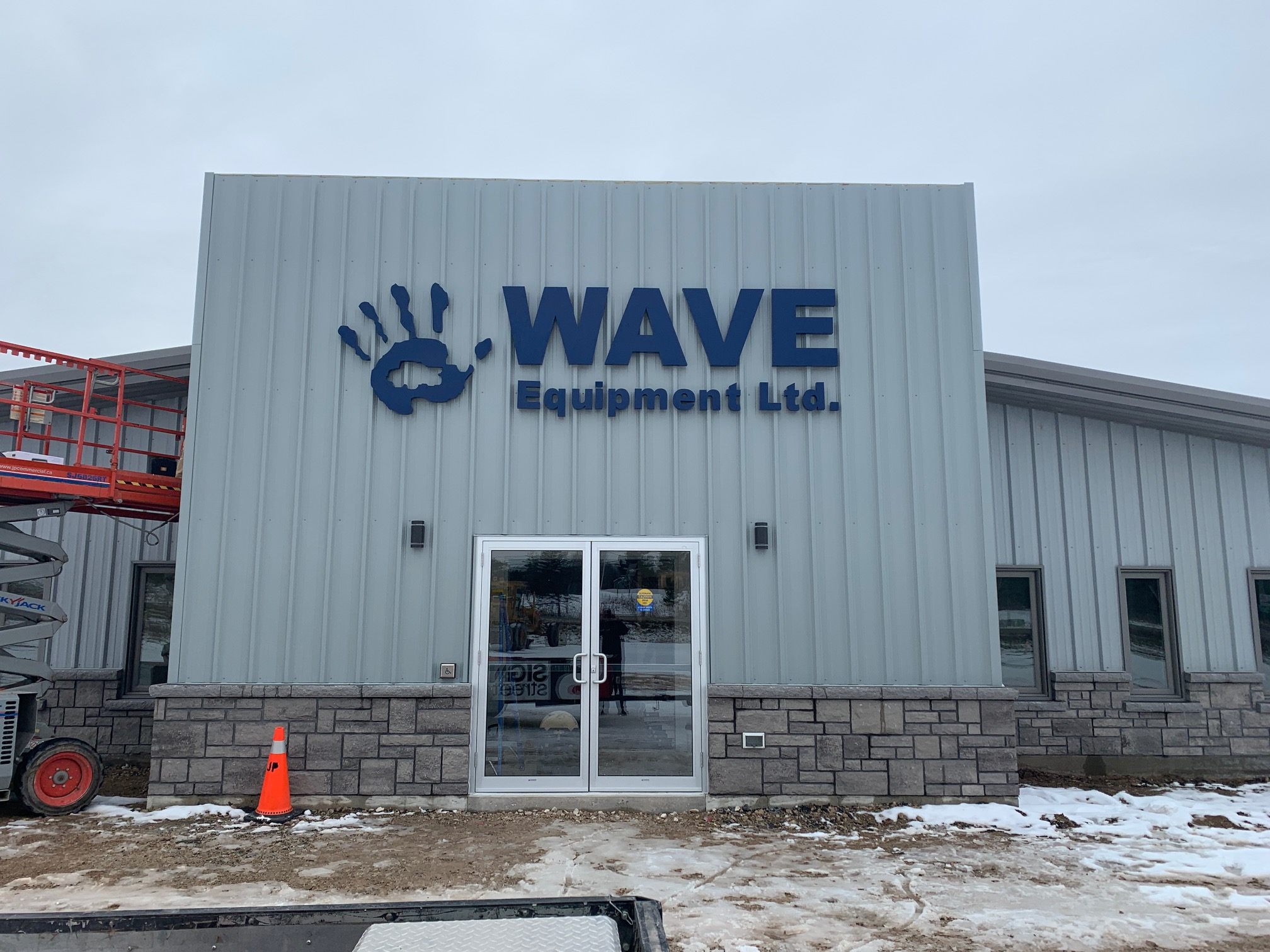 Wave Equipment Sign - Chatsworth