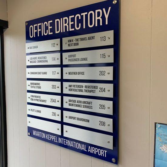 Wiarton Airport Directory